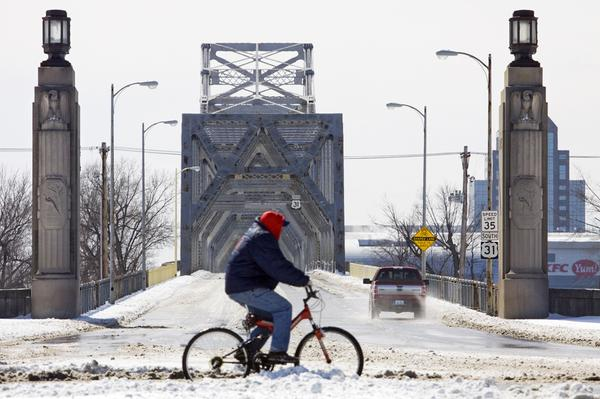 Winter & bike lanes