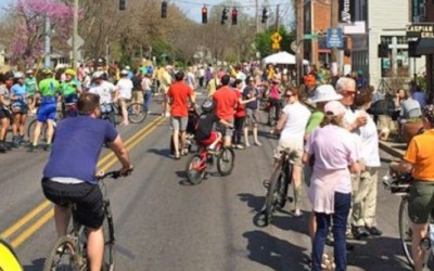 Cycling advocacy and other public events should not hinder public transit