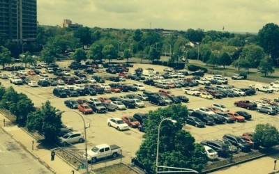 Re-purpose, re-develop city-owned surface parking lots
